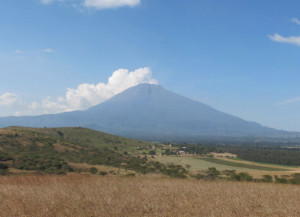 Mt Meru from AKU site in Arusha